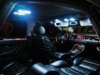 Подсветка салона Ауда А8